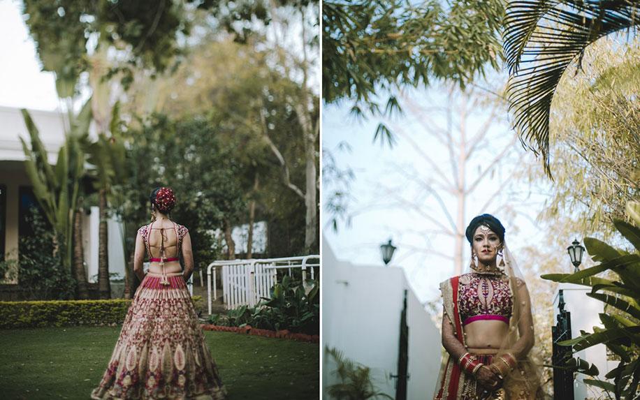 Prerna and Ankit, Noor-Us-Sabah Palace, Bhopal