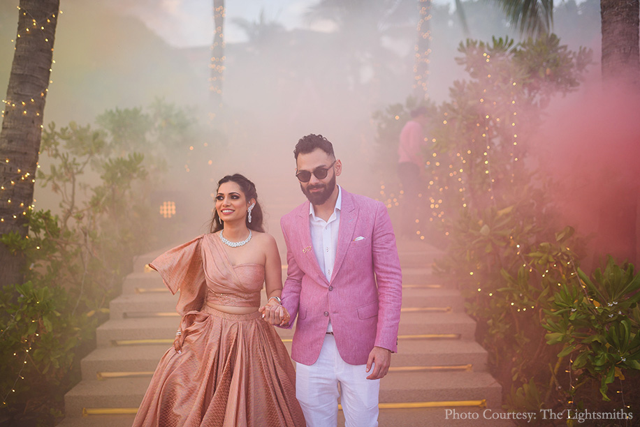 Richa and Mohit, Rayong Marriott Resort & Spa, Thailand