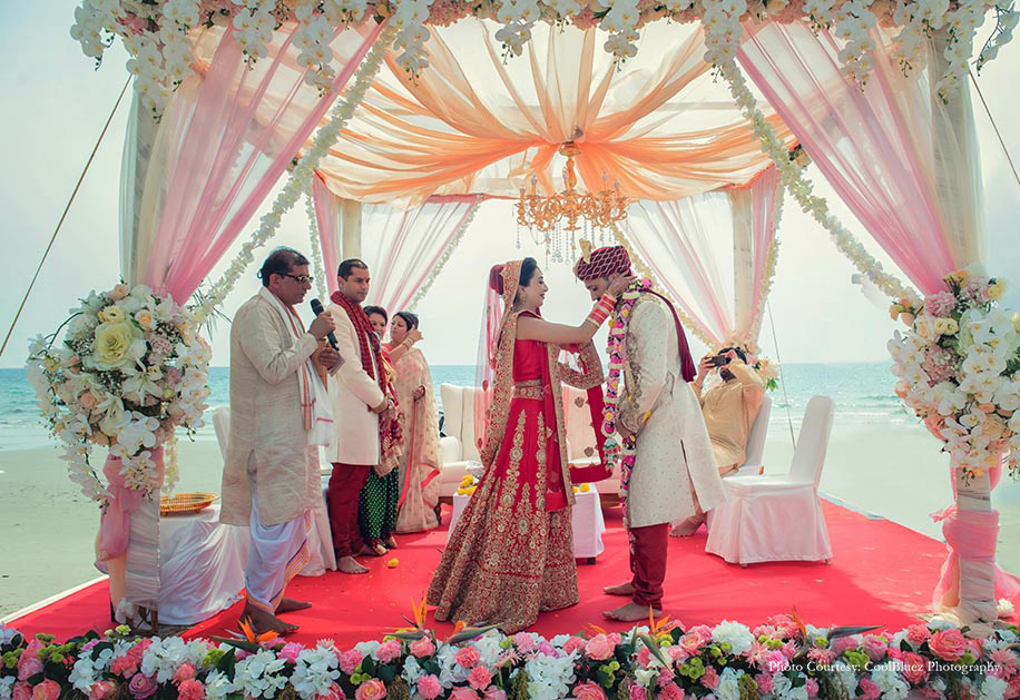 Sapna and Rashpal's Destination Wedding at Rayong Marriott Resort & Spa, Thailand