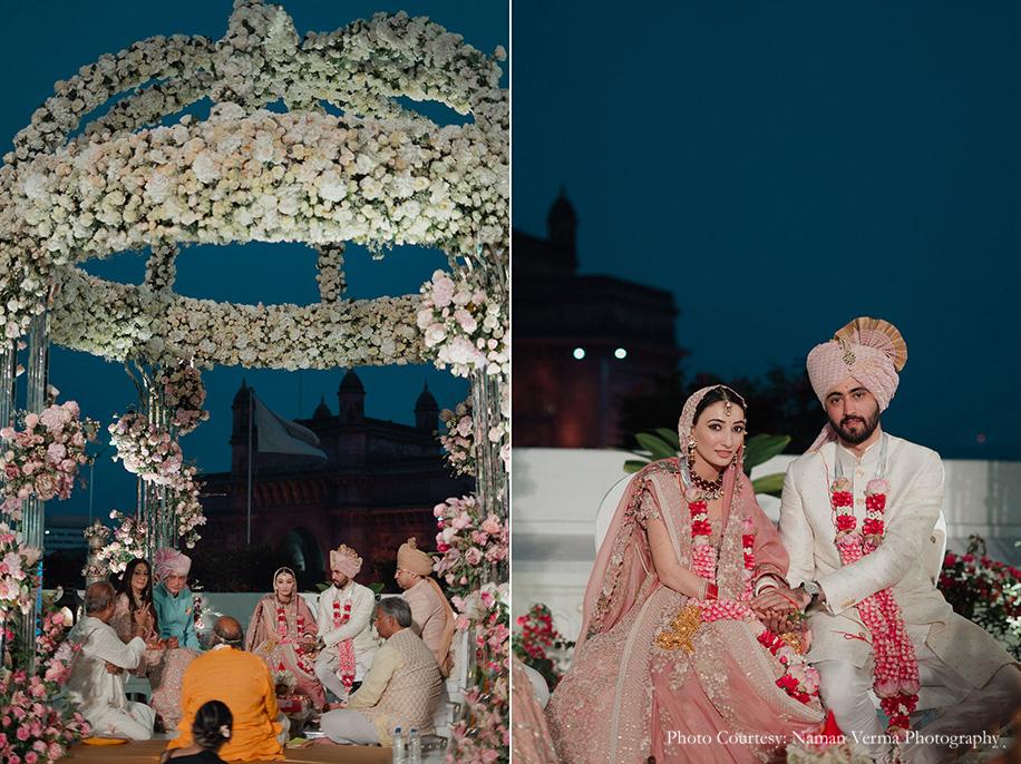 Tanya and Neev, The Taj Mahal Palace, Mumbai