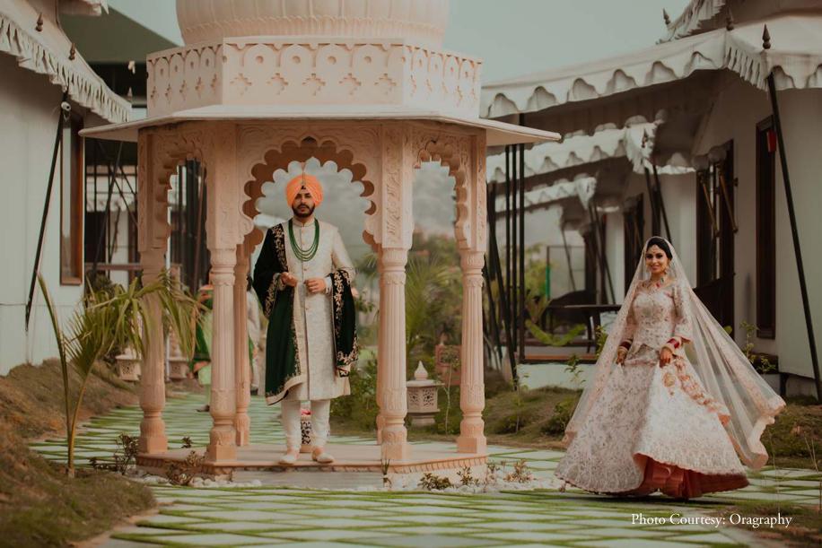 Zorawar and Jasmine, Rajasthali Resort and Spa, Jaipur