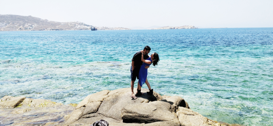 Shreya and Akshay, Greece