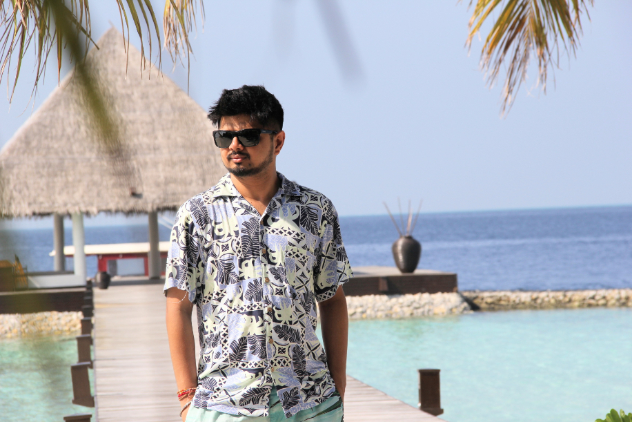 Anshima and Vikesh, The Maldives