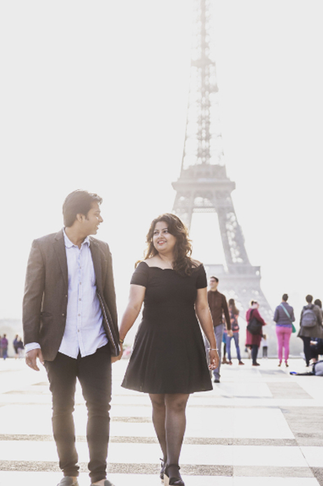 Anup and Parul, France