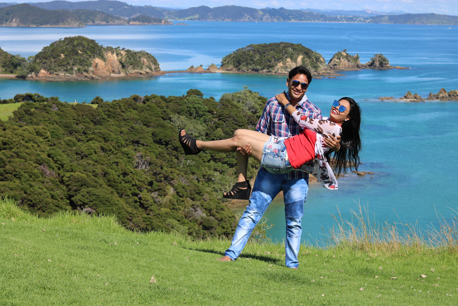Dipsi and Dhaval, New Zealand