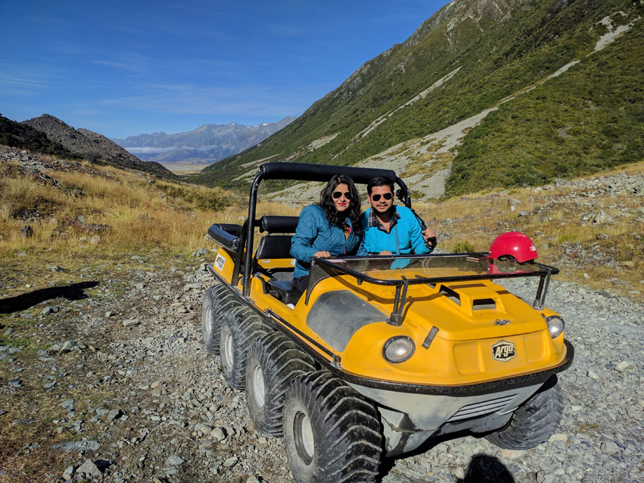 Garima and Dheeraj, New Zealand