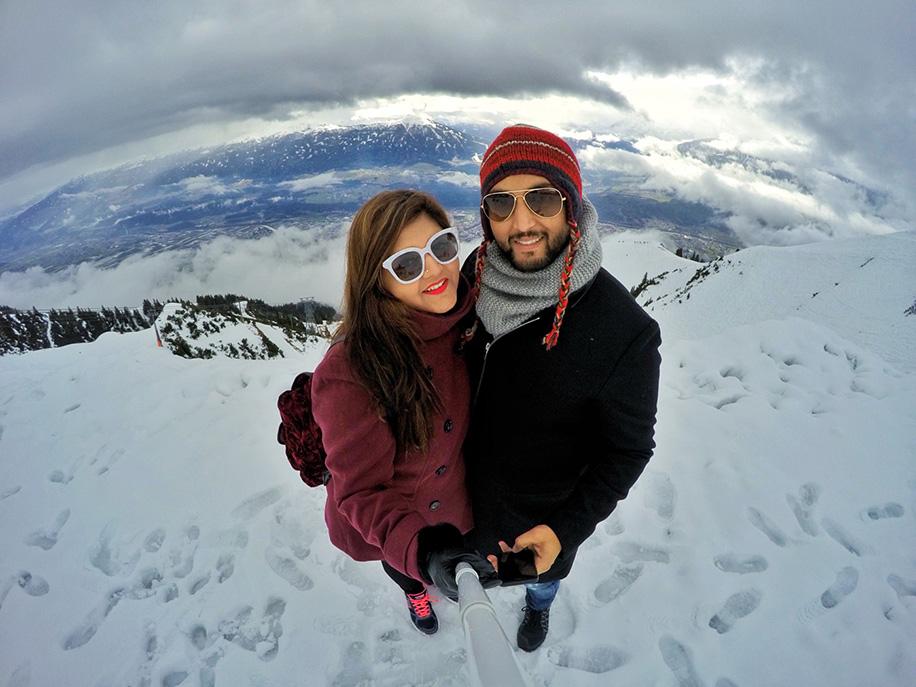 Mehak and Ashmeet, Europe
