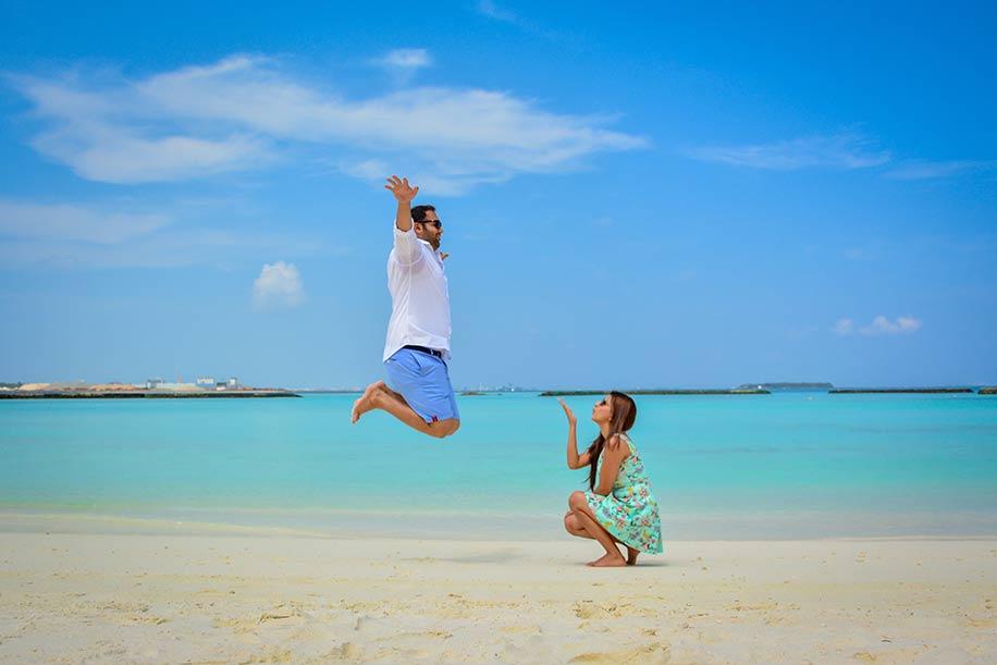 Neha & Nikhil, Maldives