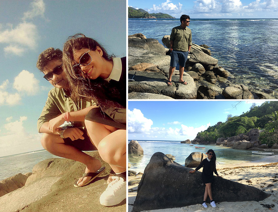 Nilabh and Akash, Seychelles