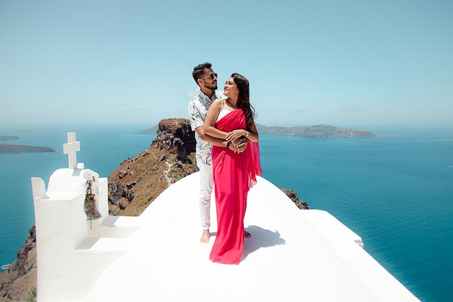 Shivani and Niteesh, Greece
