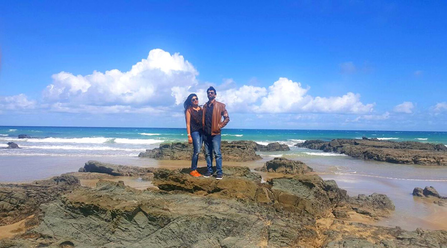 Ritika and Ajay, Australia