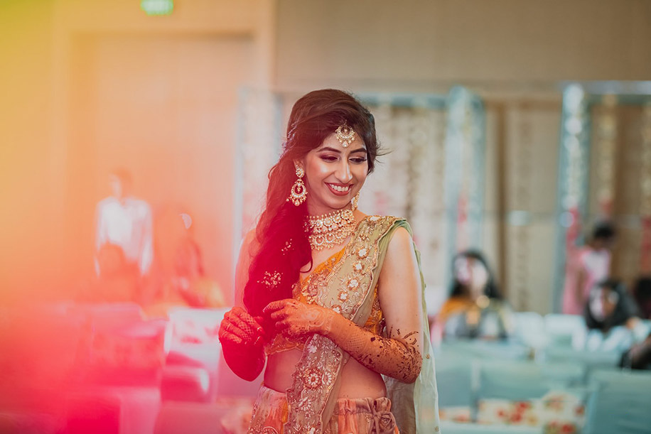 Bride Mehndi Look