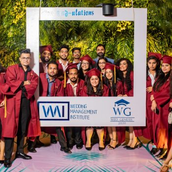 Wedding Management Institute celebrates their first graduation ceremony with Wed Genesis
