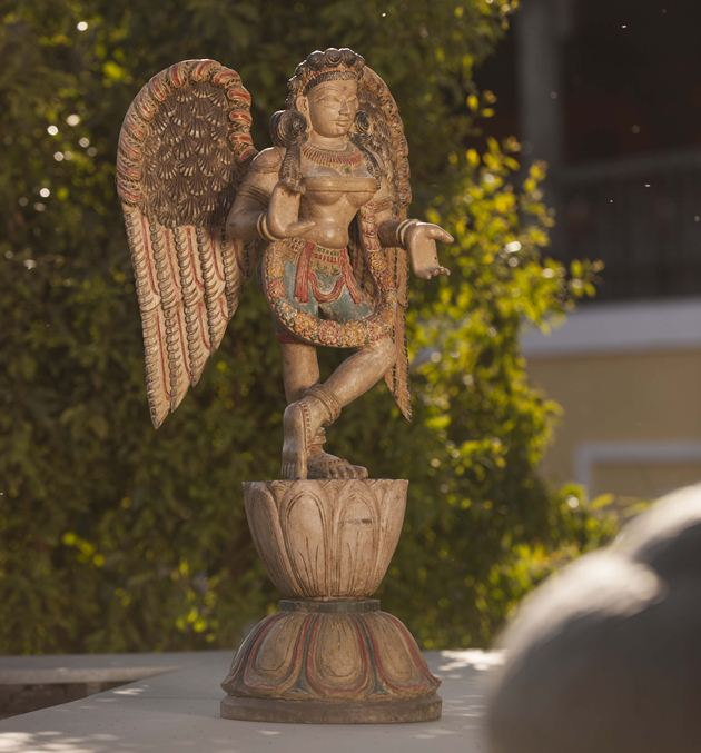 Carved Wooden Angels 1