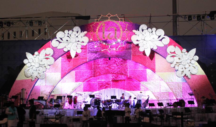 Isha Ambani and Anand Piramal - wedding decor