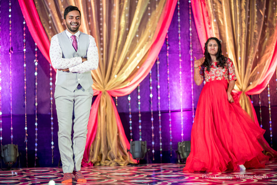 Amrita and Abhijit's Goa wedding was unusual in more ways than one
