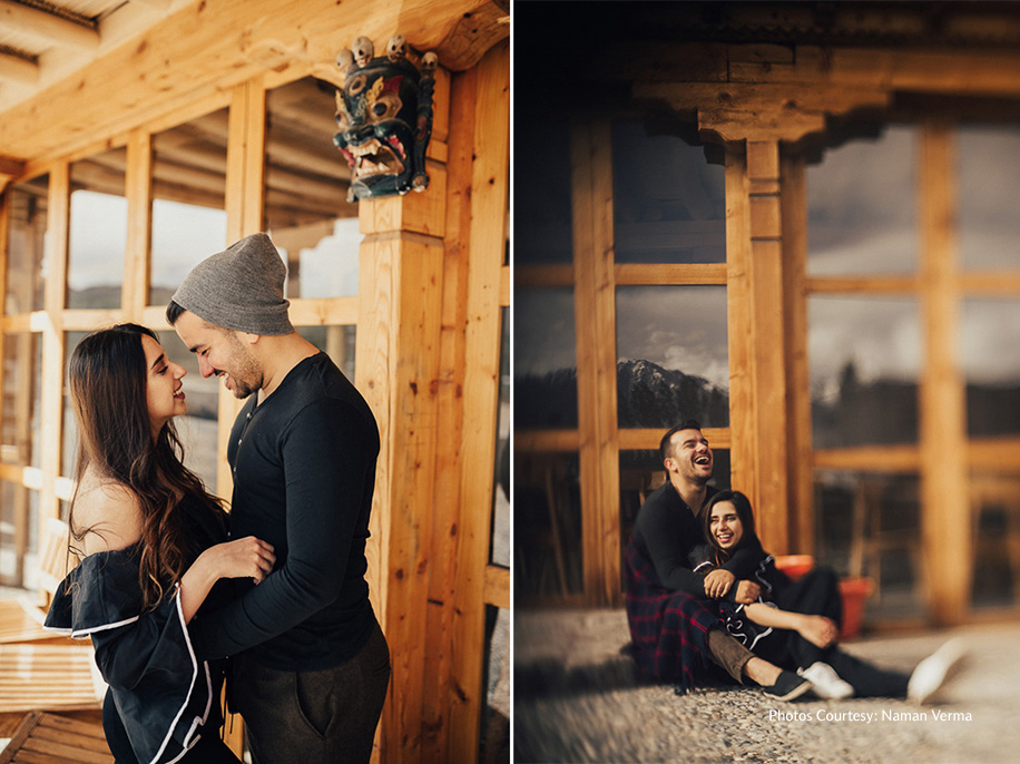Anupreet and Akshit's Stunning Pre-Wedding Shoot in Leh Ladakh