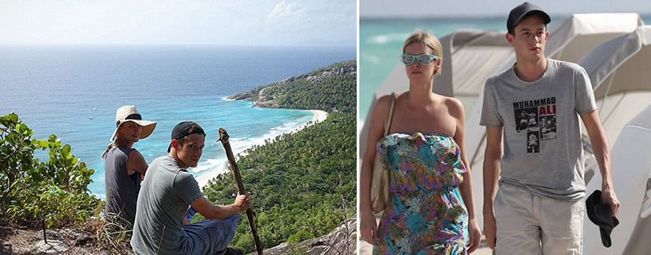 Nicky Hilton and James Rothschild - Honeymoon in Seychelles