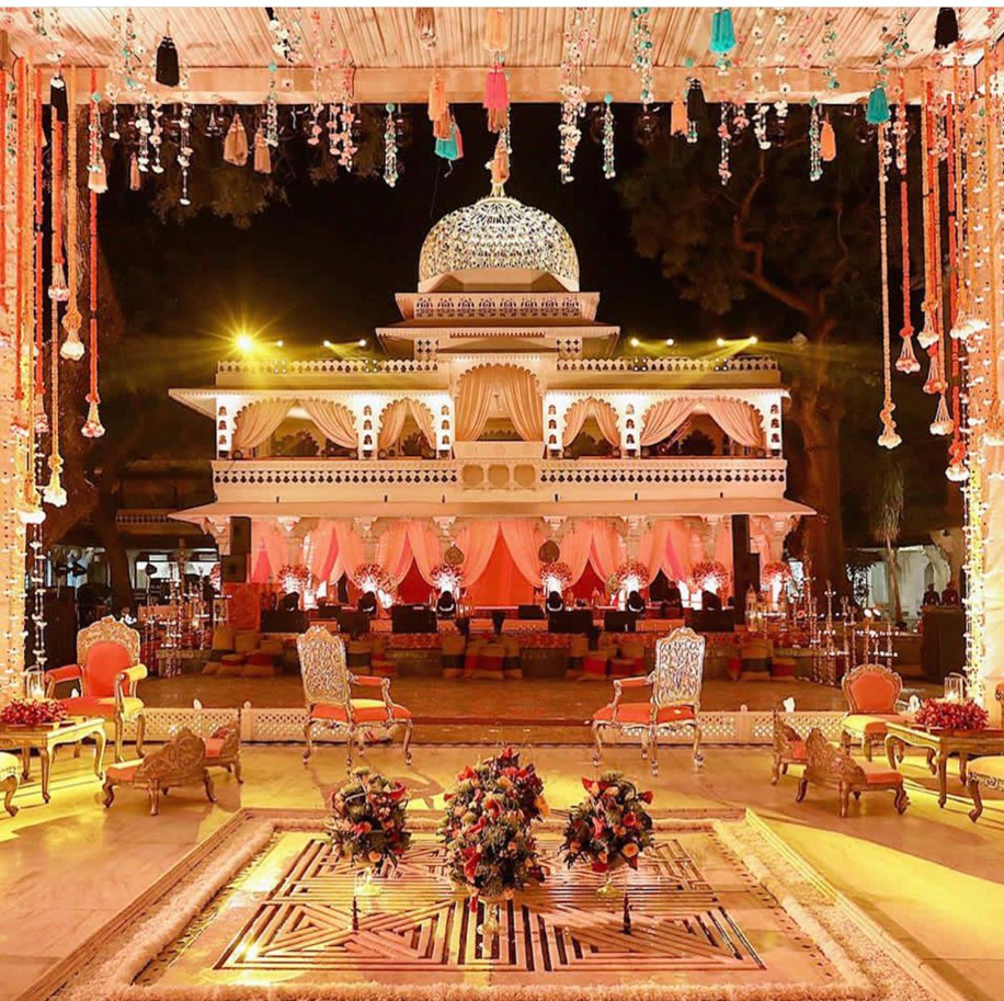 This Lebanese couple's Indian post-wedding celebrations will leave you floored!