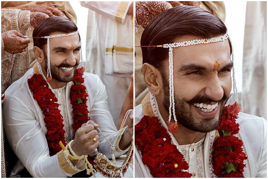 Ranveer Singh's Wedding Look by Sabyasachi Mukherjee