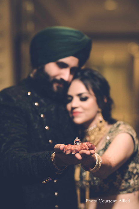 This Engagement Hosted at ITC Maurya Was A Grand 'Funjabi' Party