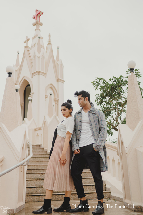 Aryan and Jeevika's pre-wedding shoot captured their deep bond in a spontaneous manner