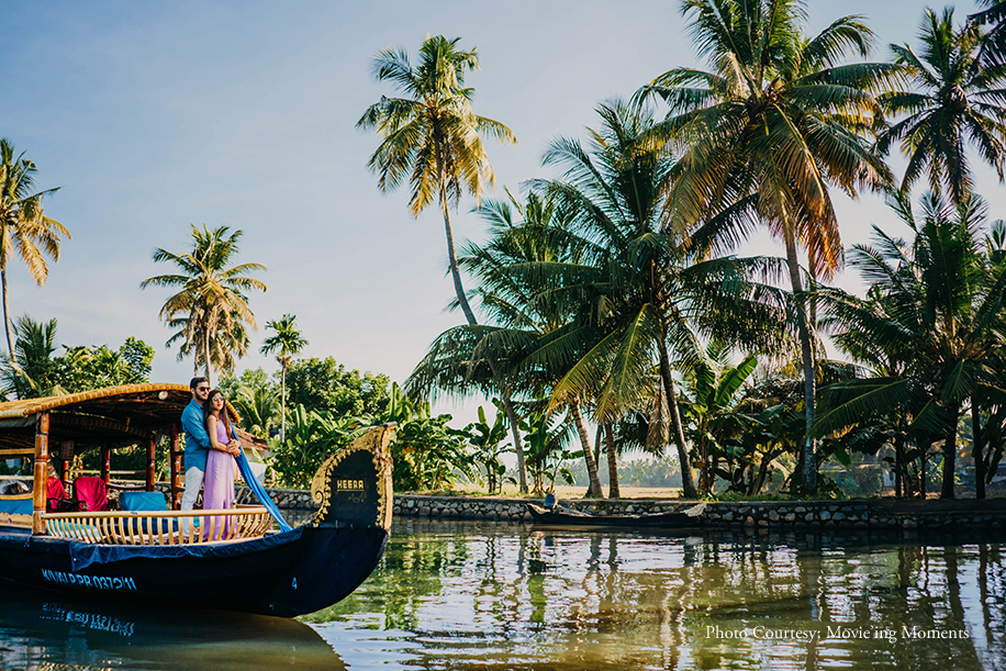 Kajal and Jimit's pre-wedding photoshoot captured Kerala's natural charm and their chemistry perfectly
