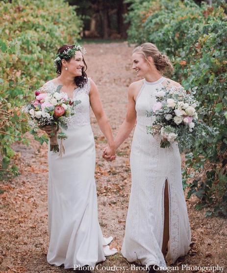 Megan Schutt and Jess Hollyoake