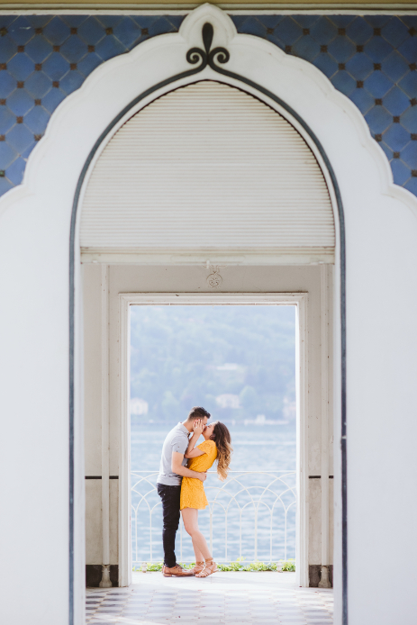 Proposal at Lake Como