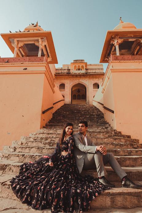 Siddharth and Shreya - pre-wedding shoot