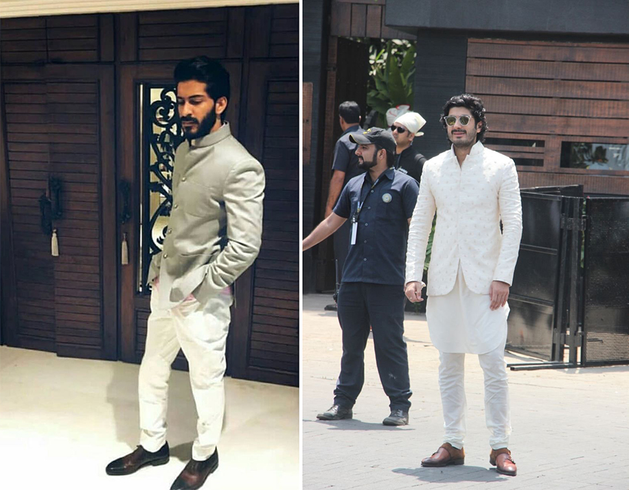 Harshvardhan Kapoor and Mohit Marwah at Sonam Kapoor's Wedding