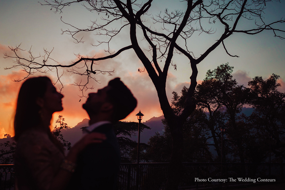 A nostalgic Mussoorie back to school themed pre-wedding photoshoot