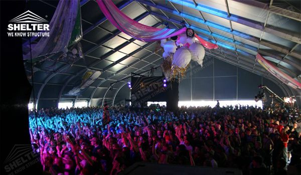 Curve Roof Outdoor Party Tents Supplier Of Tensil Fabric Structures Tfs