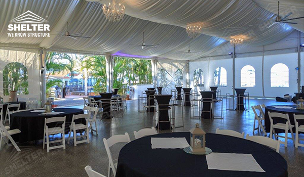Small Wedding Marquee With French Windows Amp Cassette Floor For 100 Ppl