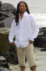 Linen Beach Wedding Attire for Men