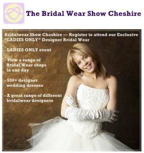 bridal wear show cheshire
