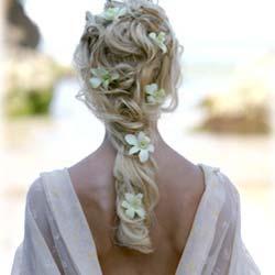beach wedding hairstyles for long hair wedding web corner