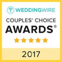 Asheville Wedding Celebrations! WeddingWire Couples Choice Award Winner 2017
