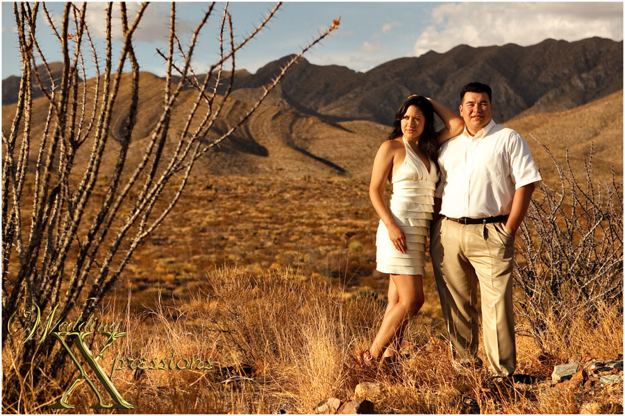 El Paso engagement photography session