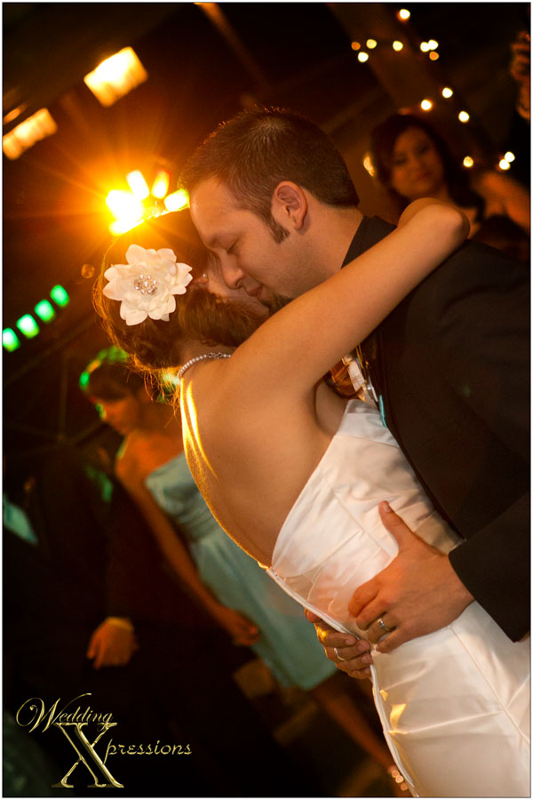 wedding during first dance