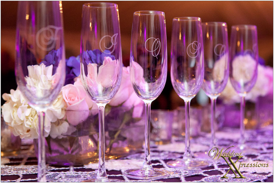 wedding champagne glassess