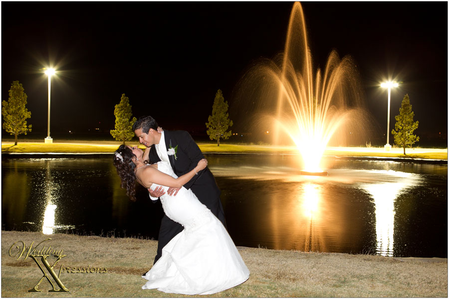 Grace Gardens Lake with wedding couple Adrian & Maria