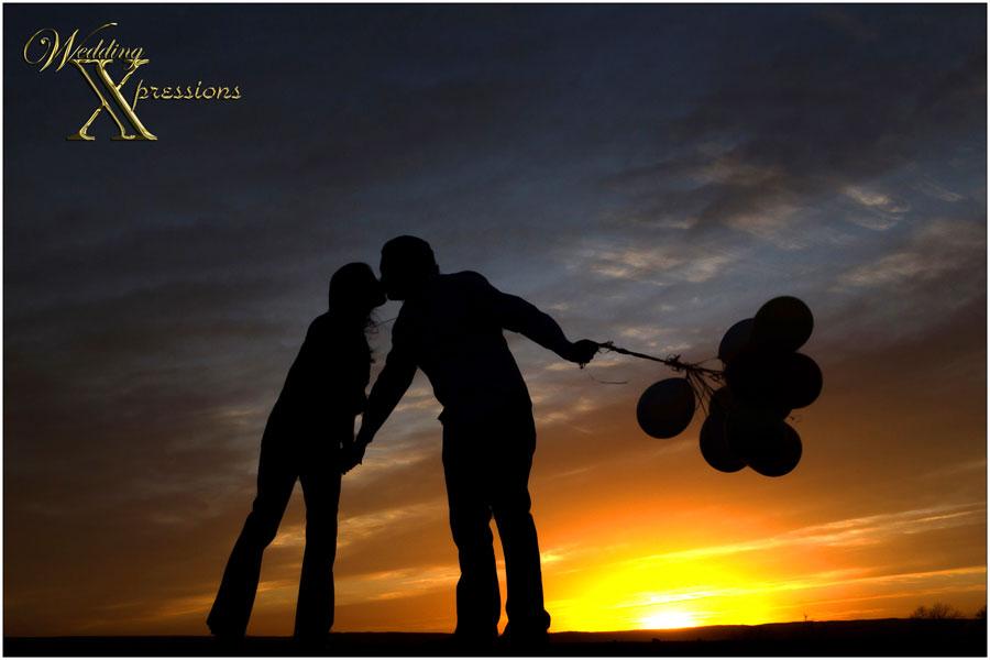 engagement sunset photography