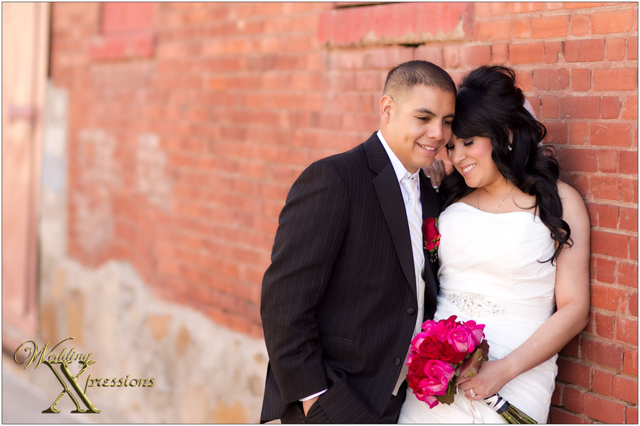 Downtown El Paso wedding photography