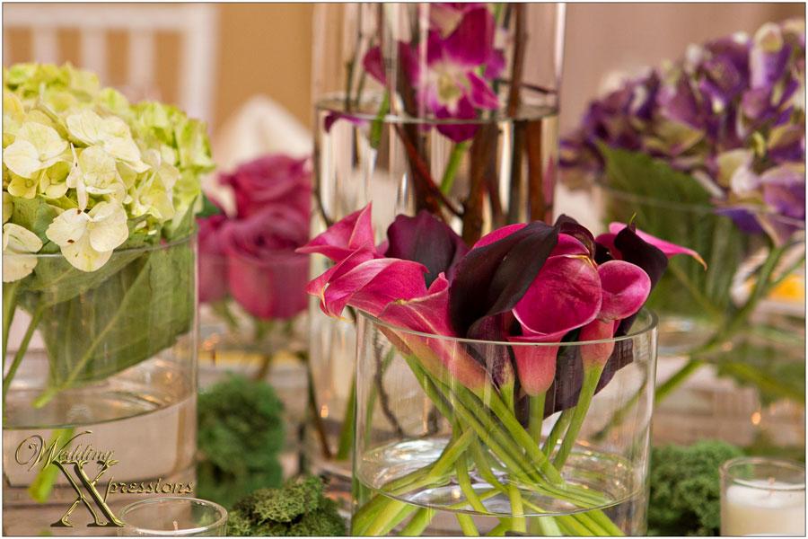 bridal floral decorations