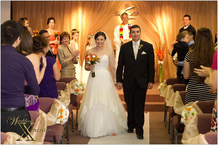 wedding ceremony exit