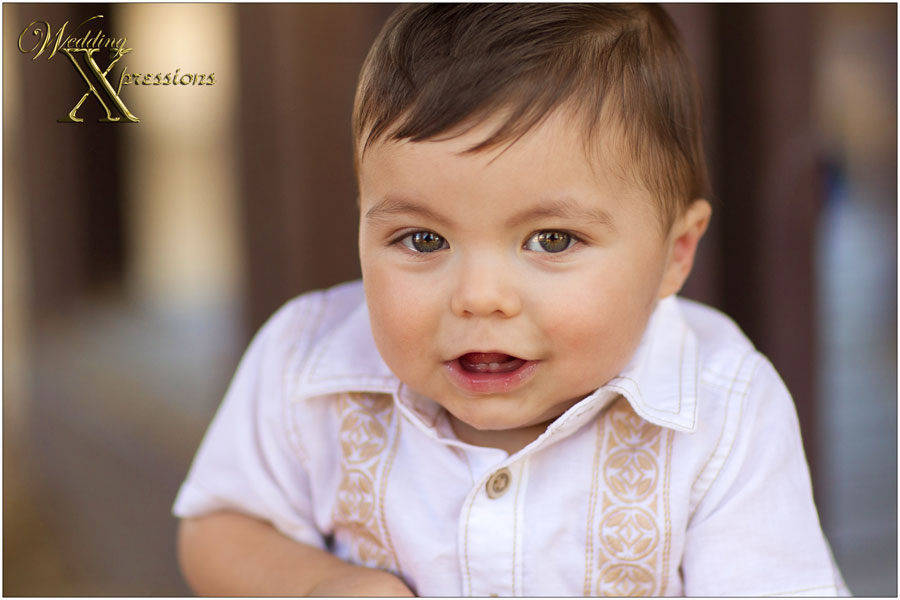 on location baby portrait photography session