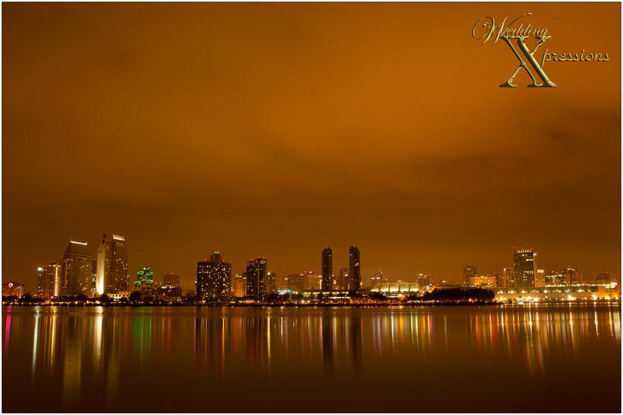 San Diego from Coronado Island
