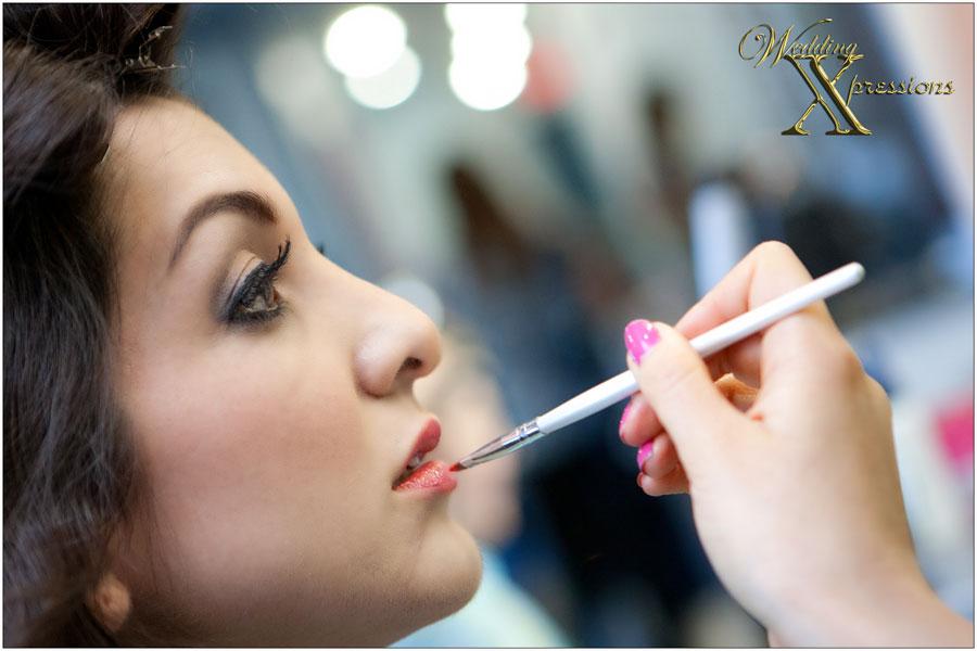 bridal makeup by Mix Salon in El Paso