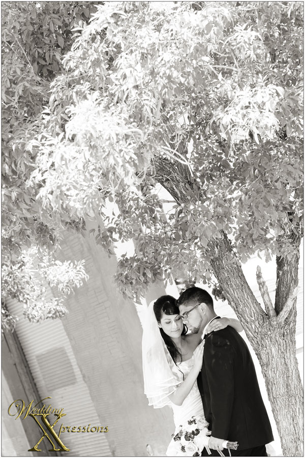 B&W wedding photography in El Paso, TX